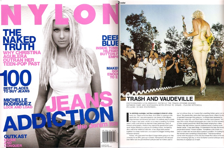 Fashion Magazine Nylon Featuring 42